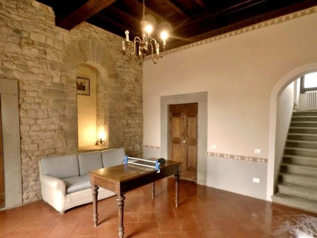 Villa Torre a Soli, ingresso (piano terra)