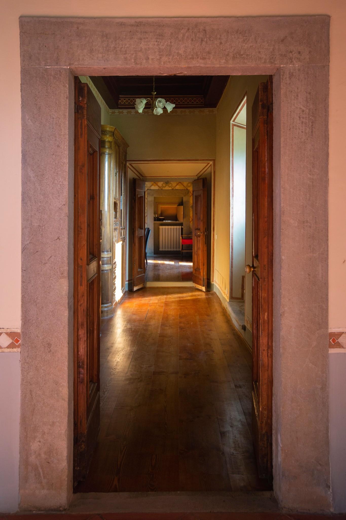 Villa Torre a Soli, corridoio (piano terra)