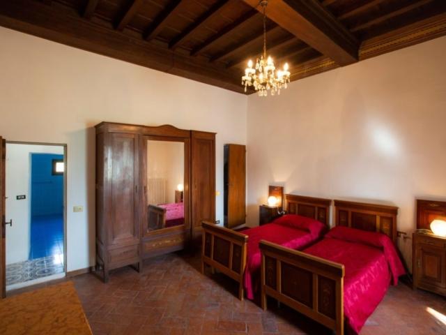Villa Torre a Soli, camera con bagno privato I (1° piano)