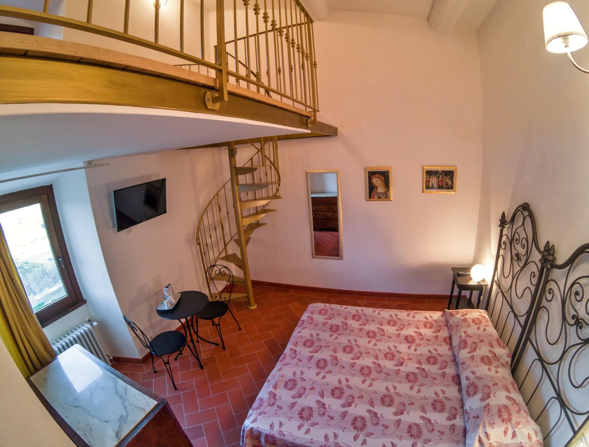Villa Torre a Soli, camera con bagno privato IV (1° piano)