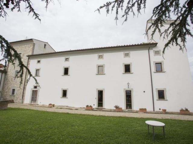 Villa, facciata nord